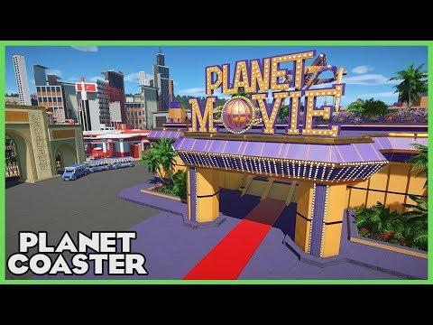 PLANET MOVIE! Spectacular Mega Park! Park Spotlight 86 #PlanetCoaster
