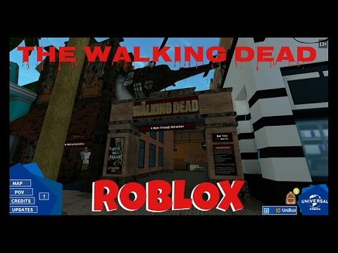 Universal Studios Roblox The Walking Dead Coldblooded2021 Youtube