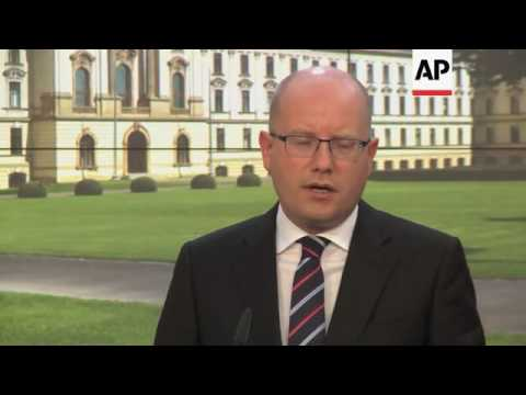 Merkel and Sobotka give joint news conference