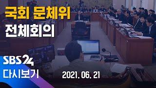 [다시보기] 국회 문화체육관광위원회 현안질의 - 도쿄올…