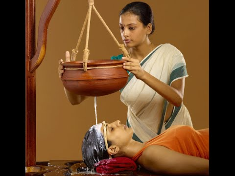 Shirodhara Treatment-The Shirodhara technique soothes and invigorates the senses and the mind