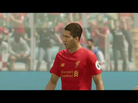 Roberto Firmino FIFA 17 | Liverpool FC | Team Goal | Crossbar and in!