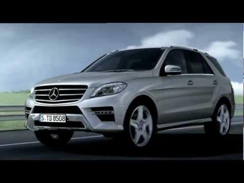 Download 2012 Mercedes M-Class - Active Blind Spot Assist