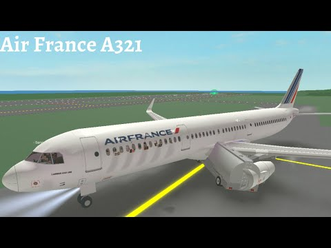 Air France A321 | Roblox