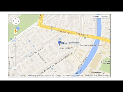 Модуль Google Map для Joomla 2.5 и 3.x