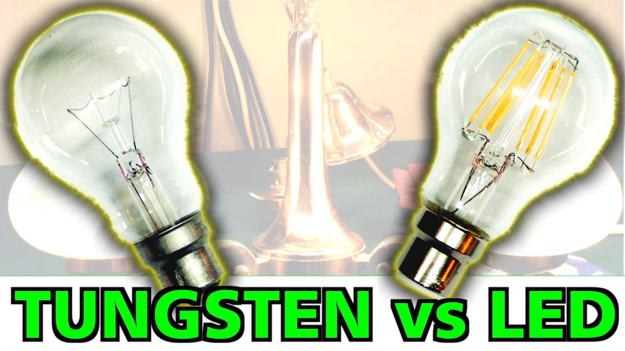 lamps 8w led vs 60w incandescent youtube. Black Bedroom Furniture Sets. Home Design Ideas