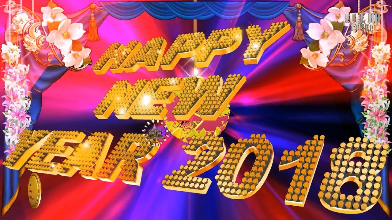 happy new year 2018 wisheswhatsapp videonew year greetingsanimation messageecarddownload