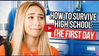 MyLifeAsEva(на русском) - Как выжить в старшей школе: первый день|Эпизод 1|