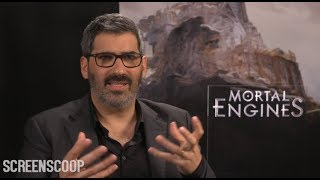 Mortal Engines Press Junket Interview - Christian Rivers