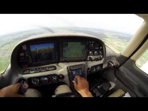 Flight to Aero-Friedrichshafen 2015 show for general aviation