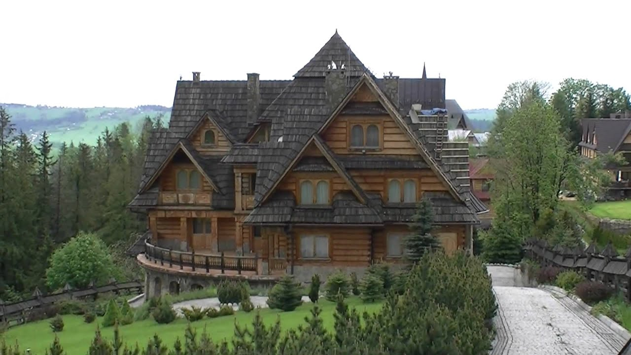 House Plans For Cottages Tatra Mountains Zakopane Poland Youtube