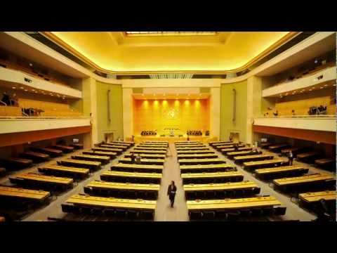 WHO: 64th World Health Assembly (time-lapse)