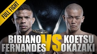 ONE: Full Fight | Bibiano Fernandes vs. Koetsu Okazaki | The Beginning Of His Reign | May 2013
