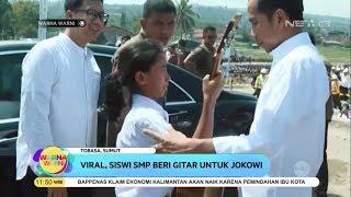 Viral, Siswi SMP Beri Gitar Untuk Presiden Jokowi - Warna Warni