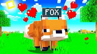 I Found A Fox  Minecraft Hardcore Noodle Planet 4