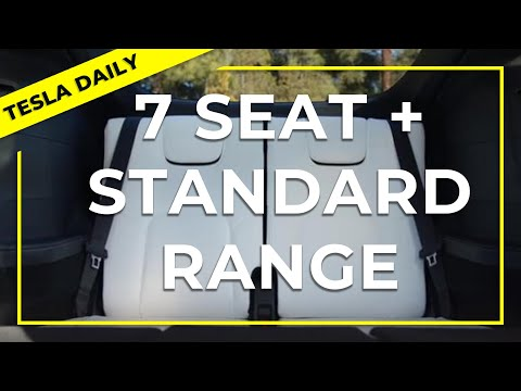 Model Y Leaked 7-Seat Photos + Standard Range Launch (Tesla Daily)