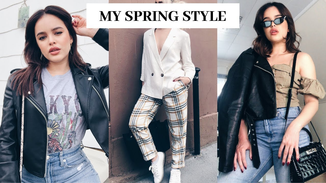 3 SPRING OUTFITS (MY STYLE) | CassidySecrets
