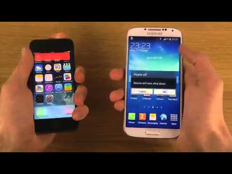 official-android-4.3-jelly-bean-samsung-galaxy-s4-vs-iphone-5s-ios-7.0.2---which-is-faster?