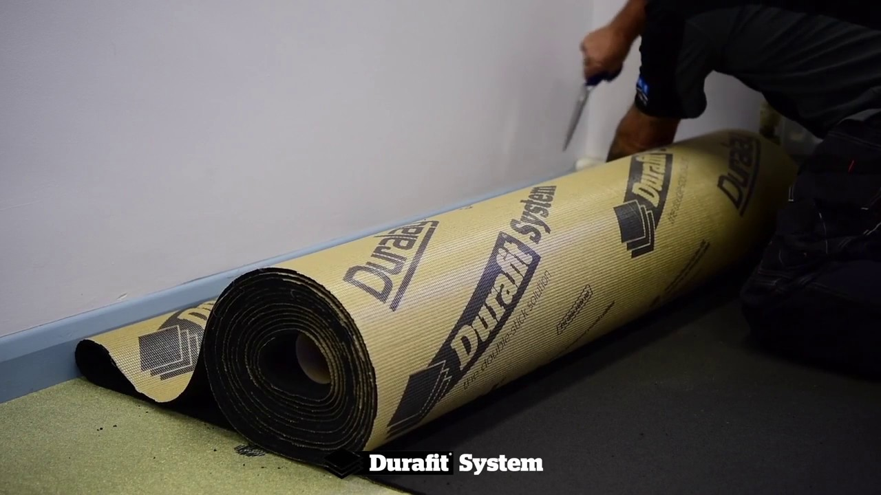 Durafit System Double Stick Carpet Installation Complete Video