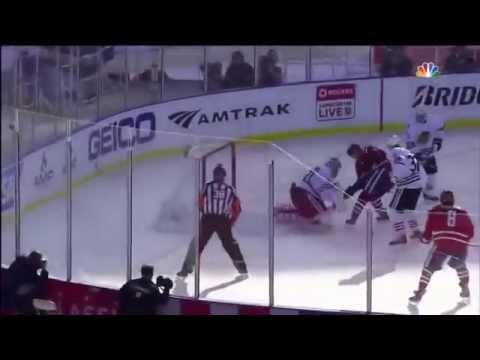 Ovechkin goal vs BlackHawks- Winter Classic 2015- 1/1/15