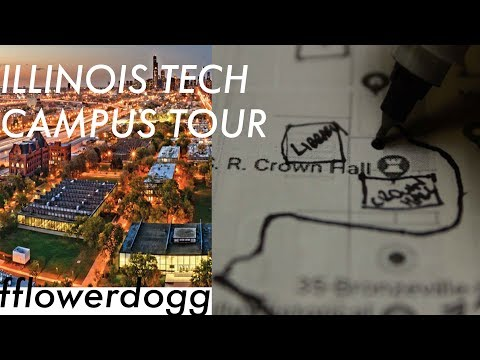 A SHORT TOUR OF MY SCHOOL CAMPUS (ILLINOIS TECH)