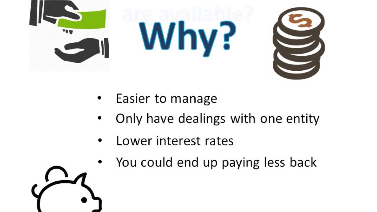 Debt consolidating advice