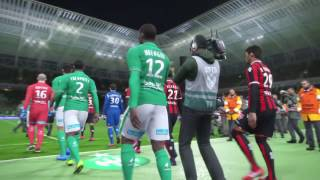 Video Gol Pertandingan Saint-Etienne vs OGC Nice