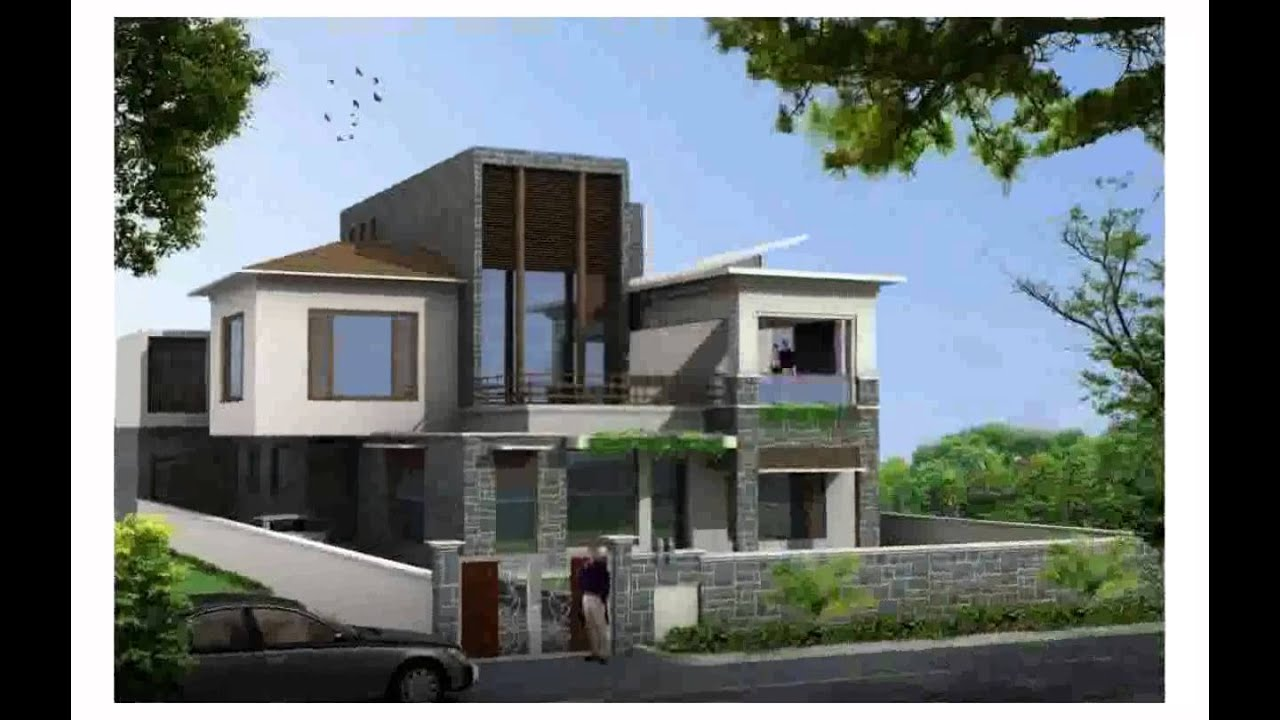 exterior home design.  Home Designs Exterior Monuara YouTube