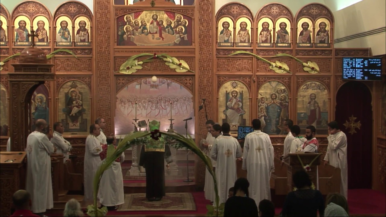 Palm Sunday Vespers 2019 | St. Mark Coptic Orthodox Church in Los Angeles, California