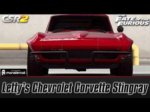 CSR Racing 2: Letty's Chevrolet Corvette Stingray | The Fate of the Furious [Recruit Letty]