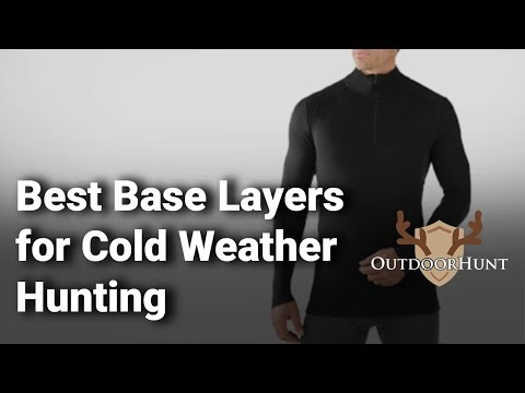 Best Base Layers For Cold Weather Hunting: Complete List With Features & Details - 2019