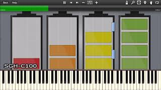 SAMSUNG LOW BATTERY SOUNDS IN SYNTHESIA