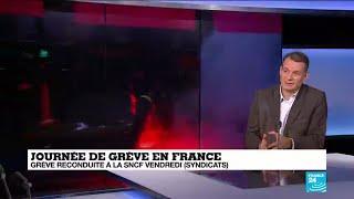 """Journée de grève en France : """"La démonstration de force des syndicats semble réussie"""""""