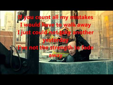 Hugh Dillon - My mistakes - Lyrics