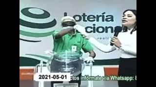 Video del fraude de la loteria Nacional sorteo sábado 01 de mayo 2021