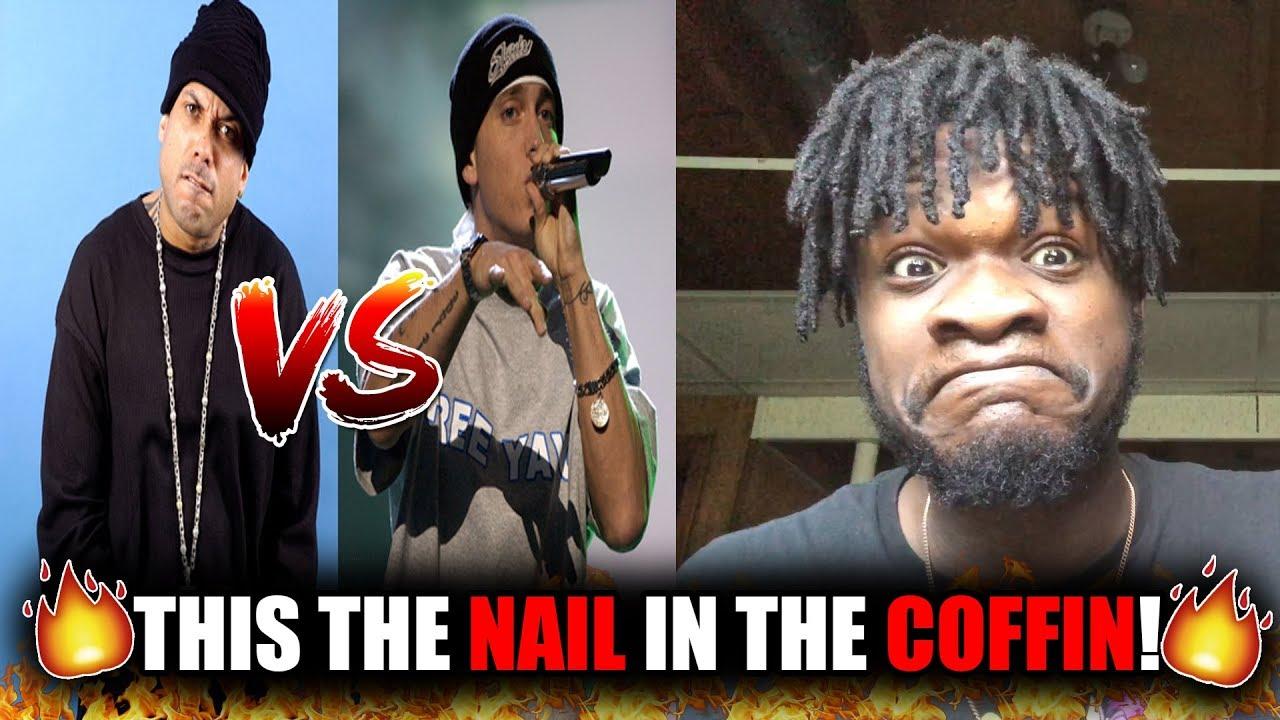 Eminem - Nail In The Coffin (Benzino Di$$) REACTION! - YouTube