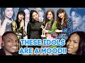 KPOP IDOLS at award shows in a nutshell reaction.... hilarious😂