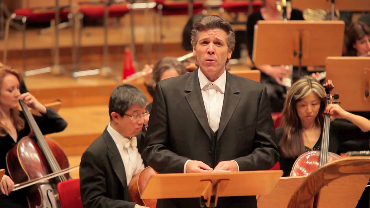 Thomas Hampson sings John Adams's The Wound-Dresser in Cologne, 01/28/10