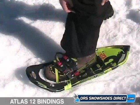 Atlas 12 Snowshoe Bindings Instructions Atlas Snowshoes