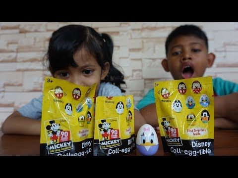 Telur Surprise Disney Terbaru | Coll Egg Tibble