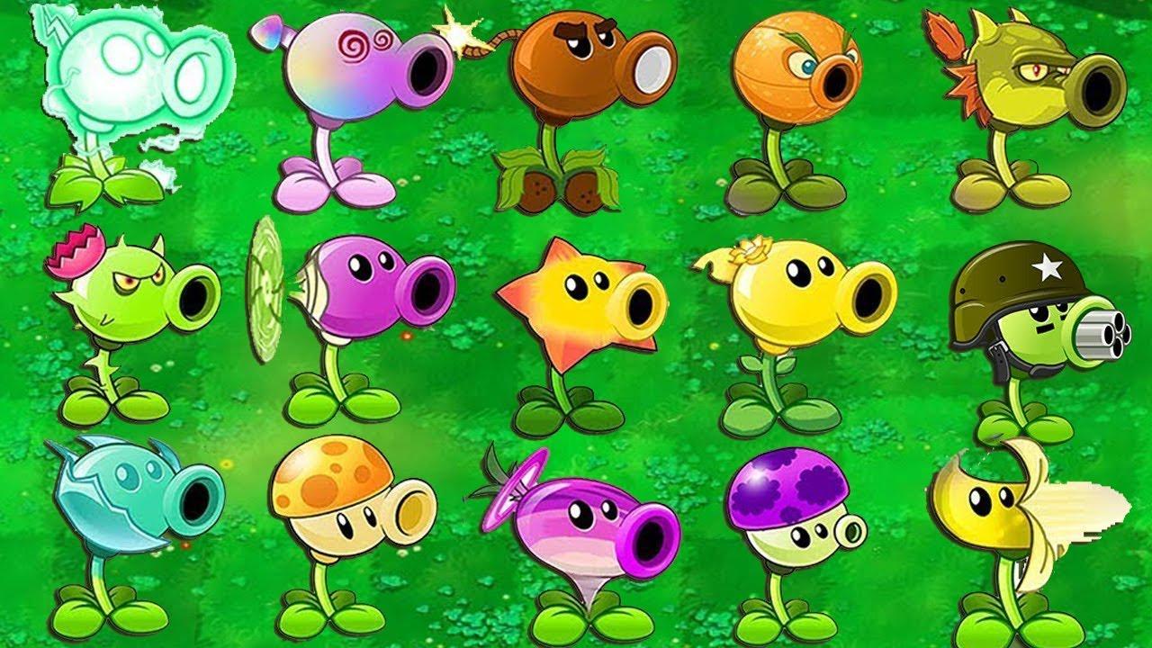 All Pea Plants vs Zombies Silver vs 999 Gargantuar vs Zomboss PvZ | Plants vs Zombies Battle