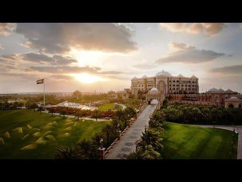 Emirates Palace Hotel, Abu Dhabi, United Arab Emirates, UAE, 5-star hotel
