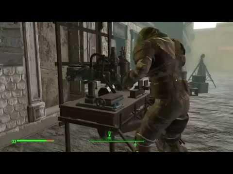 Fallout4. Комната  с ящиками, в которых хранятся все предметы в игре
