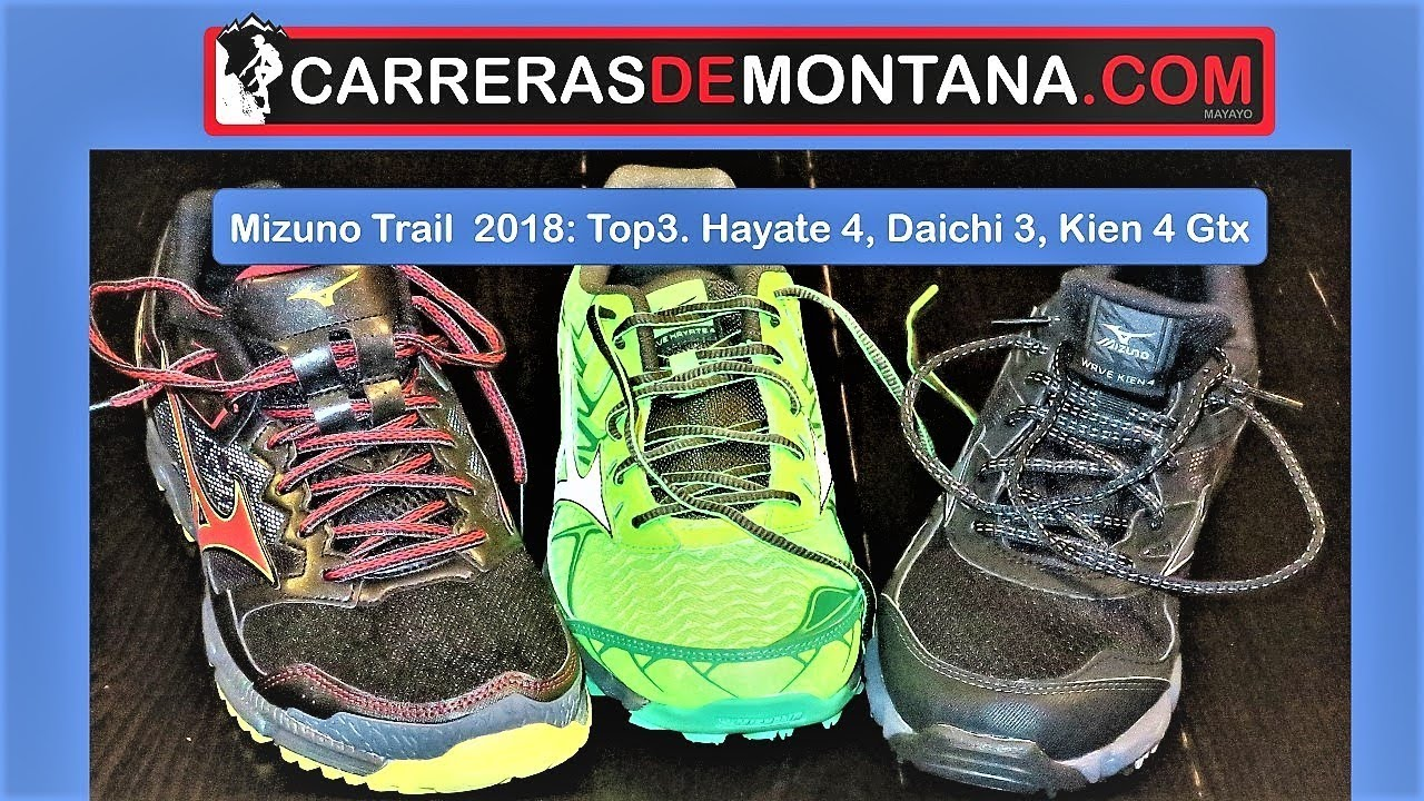 Mizuno trail running 2018 Top3  Mizuno Wave Hayate 4 5081e42d25f