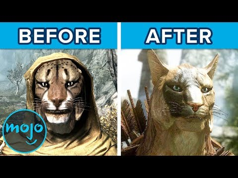 Top 10 Graphics Mods That Make Games Way Better | WatchMojo com