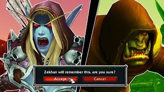 You Must CHOOSE Between Saurfang And Sylvanas In 8.1! The New Quest That Changes WoW Forever
