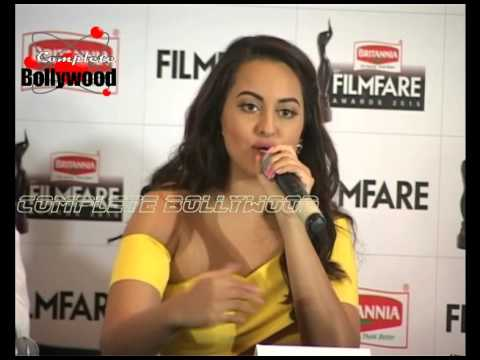 Sonakshi Sinha at the 61st Britannia Filmfare Awards 2015