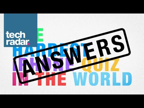 The Hardest iPhone Quiz in the World: ANSWERS