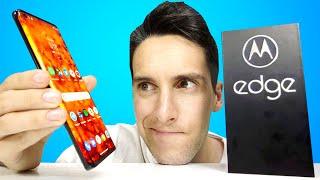 ¿BIEN o MAL? Motorola Edge PRUEBAS y UNBOXING en español - pre Review