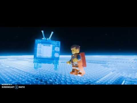 Emmet Meets Vitruvius (The Lego Movie)